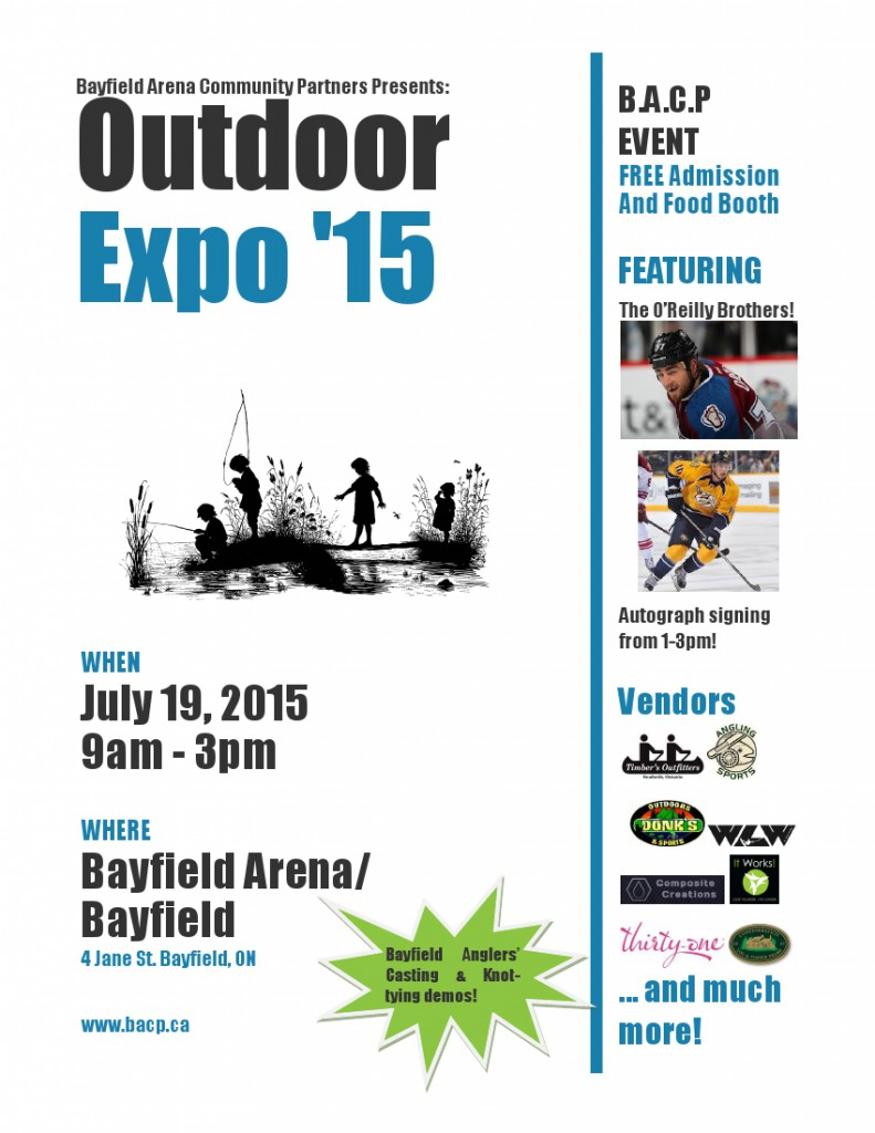 Bayfield Arena Community Partners - Outdoor Expo